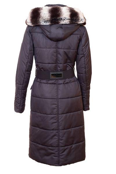 Back view of Royal alpaca winter coat