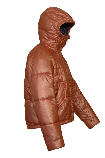 Front view of Solstice Alpaca insulated puffer jacket